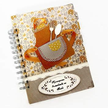 Handmade Recipe Books - best personalized blank recipe books products on wanelo
