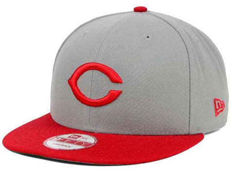 Cincinnati Reds New Era Mlb Inlinen Color 9fifty Snapback cincinnati reds new era gray new era mlb c town 9fifty snapback cap lids