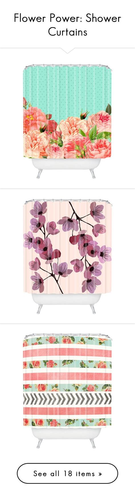 Bath Flower Green 1000 ideas about floral shower curtains on