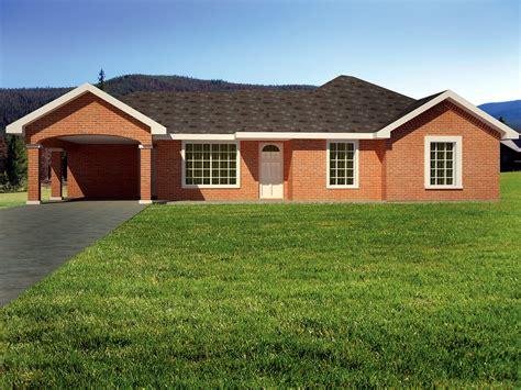 Brick Ranch Home Plans by Brick Ranch Home Plan 61032ks Architectural Designs
