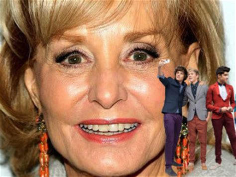 Ripas Outie Goes Un Airbrushed by Barbara Walters Most Fascinating Of 2012