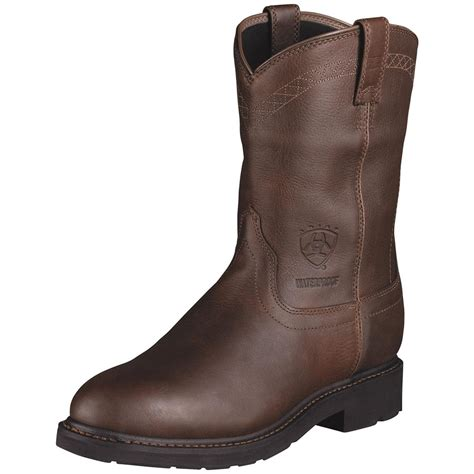 s ariat 174 10 quot h2o waterproof cowboy boots