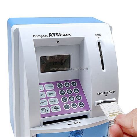 atm bank cheap mini atm coin bank with lcd