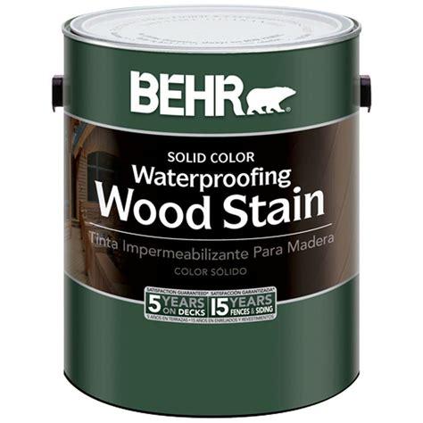 behr  gal cedar naturaltone waterproofing wood stain