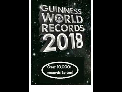 guinness world records 2018 edition books 40 subs special guinness world records 2018