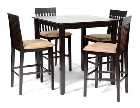 Exceptionnel Chaises Hautes De Cuisine #2: mission-ensemble-table-haute-4-chaises-hautes-wengue-beige-48243.jpg