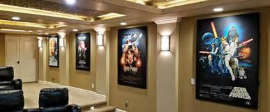 Home Theater Design Concepts Movie Poster Acoustic Panels Album Cover Acoustic Panels