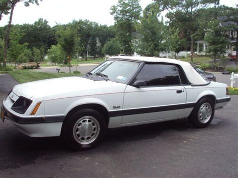 car owners manuals for sale 1985 ford mustang free book repair manuals purchase used 1985 ford mustang 5 0 convertible very rare and almost all original in miller