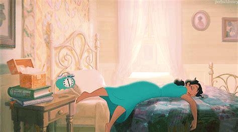imagenes good morning princess disney princesse reveil fatigue image gif anim 233