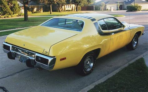 Home Products To Clean Car Interior 1974 Plymouth Road Runner Coupe 45354