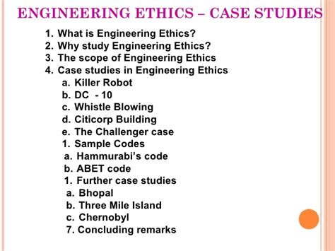 engineering ethics cases