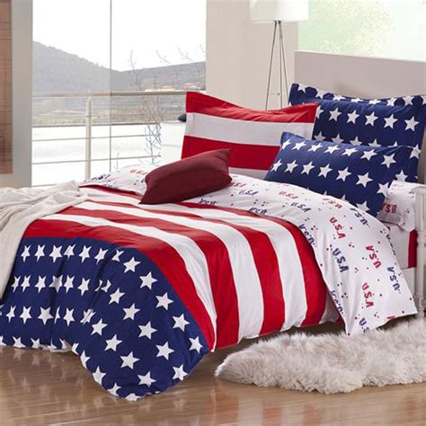 comforter usa american flag bedding
