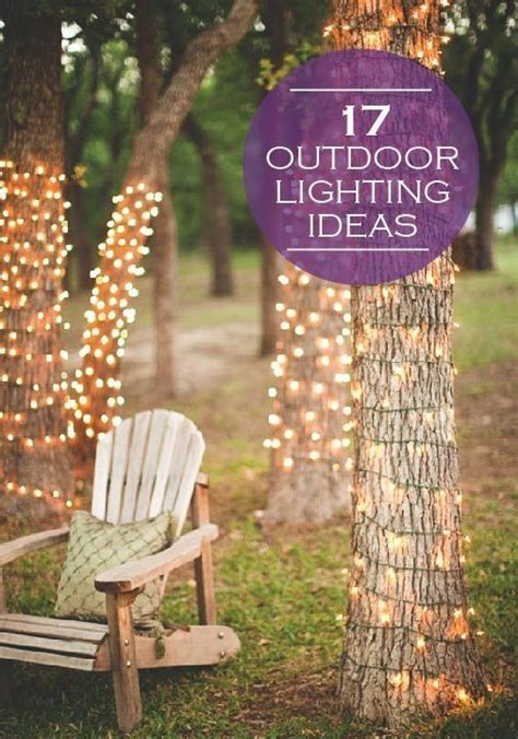Creative Outdoor Lighting Ideas Lighting Ideas Outdoor Lighting And Outdoor On Pinterest