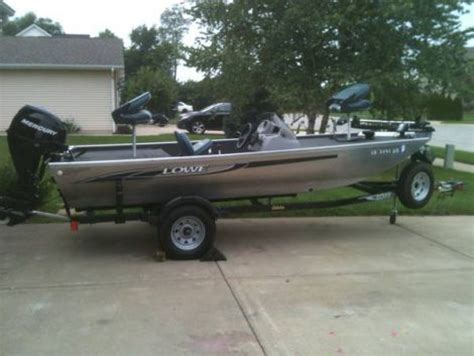 fishing boat for sale indiana boats for sale 2012 16 foot lowe skorpion