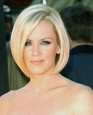 inverted bob on heart shape jenny mccarthy style fashion coolspotters