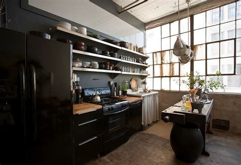 Brooklyn Kitchen Design by Eclectic Trends Loft Brooklyn Kitchen Eclectic Trends