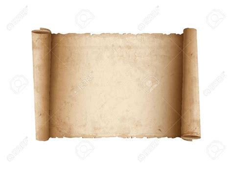Parchment Paper - parchment paper scroll clip 53