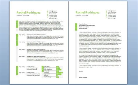 modern cover letter modern microsoft word resume and cover letter template by