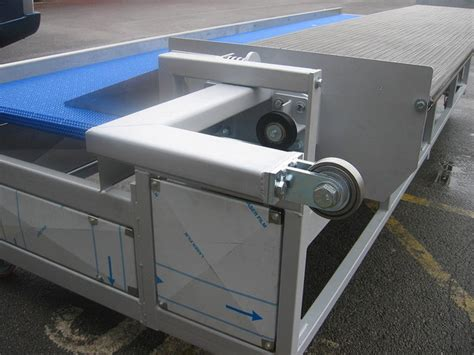 Oven Cosway bagel unloader unit bakery conveyors and mechanical handling equipment design manufacture