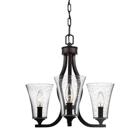 feiss marteau 3 light rubbed bronze single tier