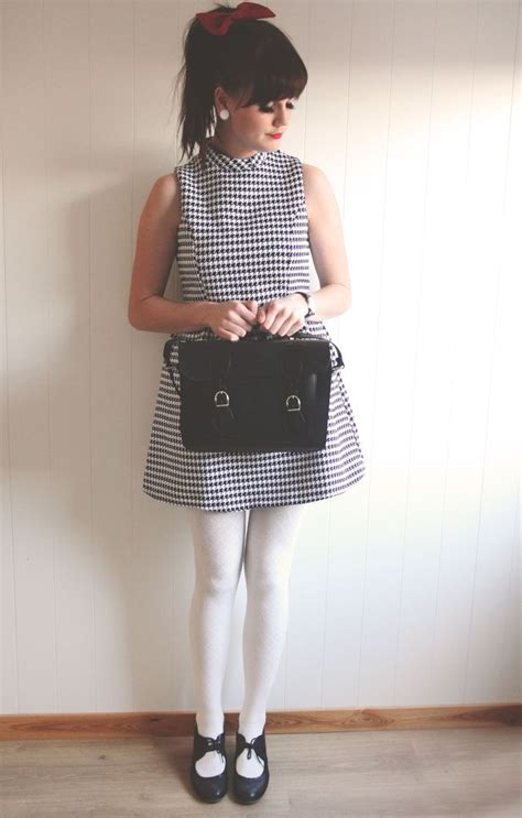 black white dress with tights 20 to wear with white tights this season