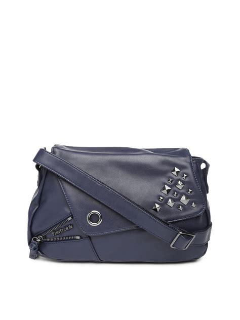 Sling Bag Nike Navy myntra fastrack navy sling bag 439383 buy myntra