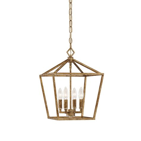 4 Light Pendant Millennium Lighting Vintage Gold 12 Inch Four Light Pendant On Sale