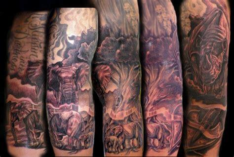 tattoo sleeve elephant tattoo sleeve elephant danielhuscroft com