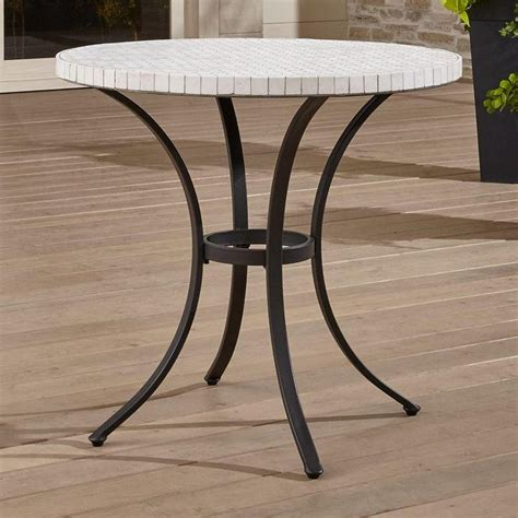 marble bistro table mothology the science of style metal bistro tables