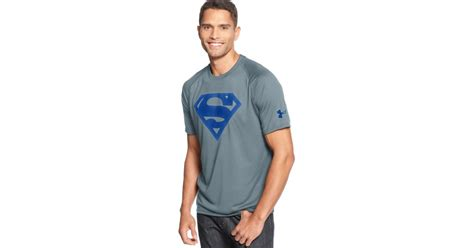 Kaos Tshirt Armour Alter Ego 2 Armour Alter Ego Superman Tshirt In Gray For Lyst
