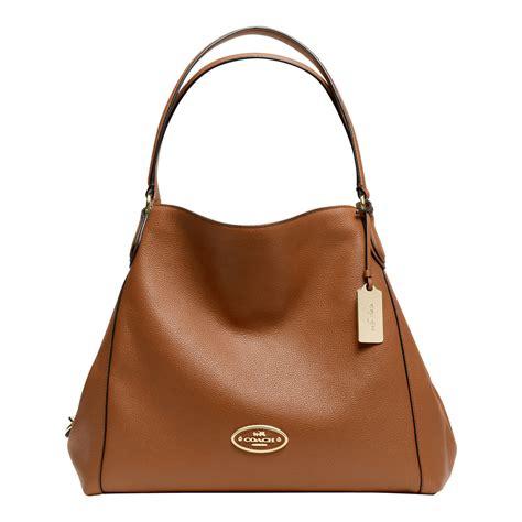 Coach Shoulder Bag coach edie shoulder bag in brown lyst