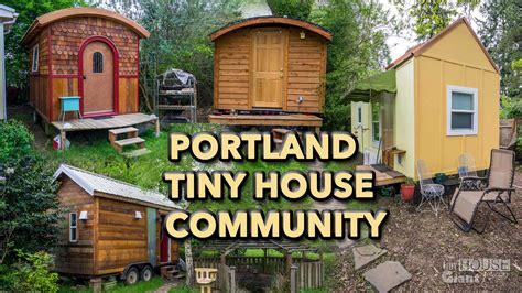 Small Home Communities In Oregon Tiny House Lifestyle Tiny House Community