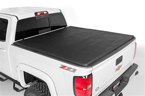 tri fold truck bed covers soft tri fold bed cover for 07 14 chevrolet silverado
