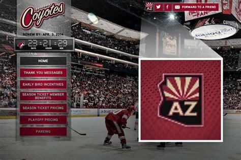 Kaos Baju Hockey Arizona Coyotes Logo Wordmark coyotes reveal new arizona wordmark logo icethetics