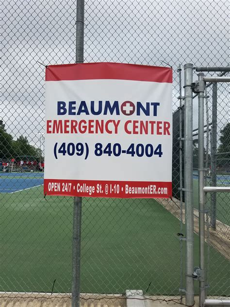 beaumont emergency room tennis team chionships 2017 beaumont emergency center