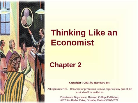 Chapter 2 Thinking Like An Economist Mba by Thinking Like An Economist Chapter 2 Copyright