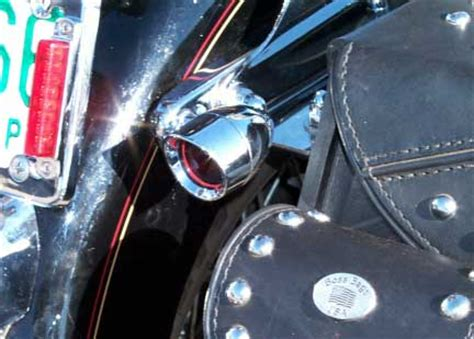 sportster light turn signal combination motorcycle saddlebags hd harley davidson softail springer