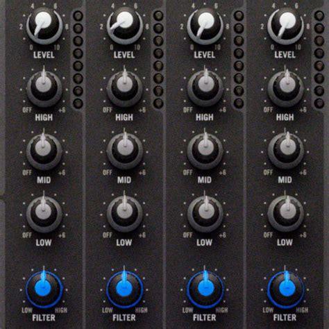 high pass filter mixer rane sixty four dj mixer including serato dj rane dj
