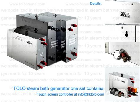 7kw 380v residential steam bath generator home steam