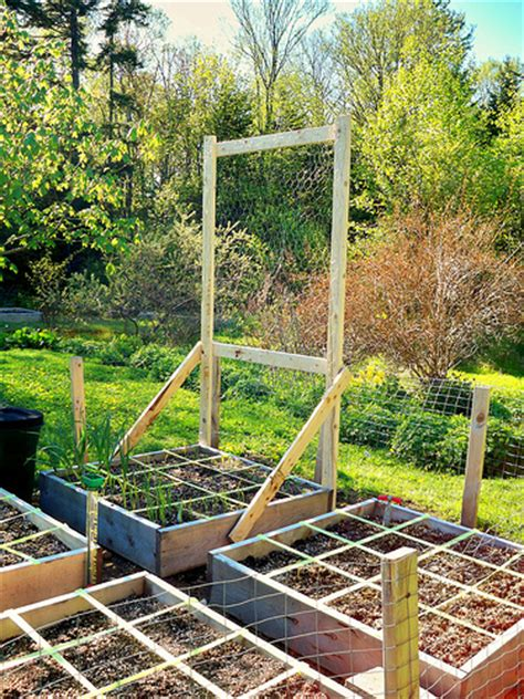 1 Foot Trellis Pea Trellis Square Foot Garden For More Information On