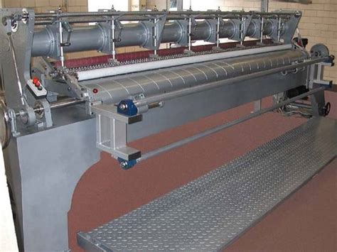 Second Quilting Machine by Sell Steppex Multineedle Quilting Machines