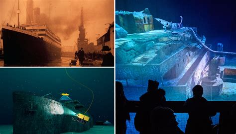 titanic real boat underwater in 2018 nine lucky people will get to dive underwater to