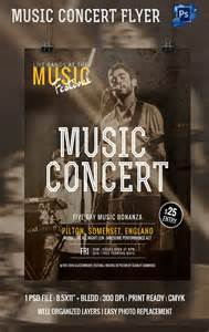 Concert Poster Template by 135 Psd Flyer Templates Free Psd Eps Ai Indesign