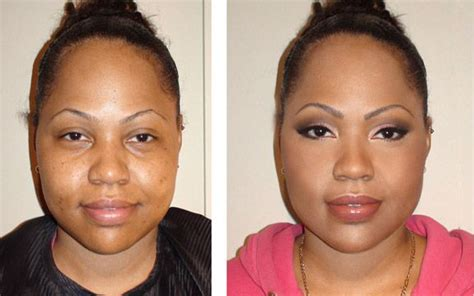before and after makeovers for women in their 60s before and after makeup black women makeup before and