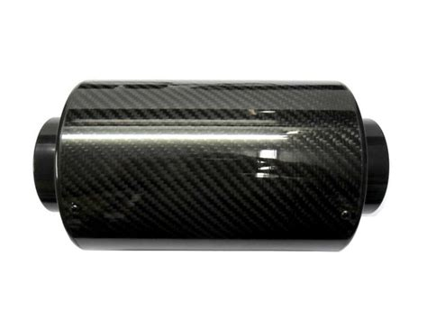 Intake Open Air Filter Universal Diameter Inlet 3inch real carbon fiber cold air intake system 3 quot inlet filter box induction universal ebay