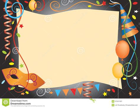 colorful card background design elements free vector in carnival decorative background stock image image 37047401