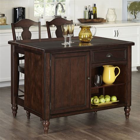 walmart kitchen islands kitchen island table with two drawers walmart com