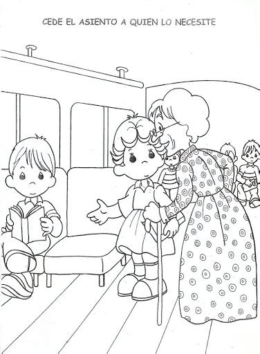 coloring book for elderly 為孩子們的著色頁 respect for the elderly free coloring pages