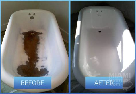How To Reface A Bathtub 9 Before And After Photos Of Bathtub Transformations Homeyou