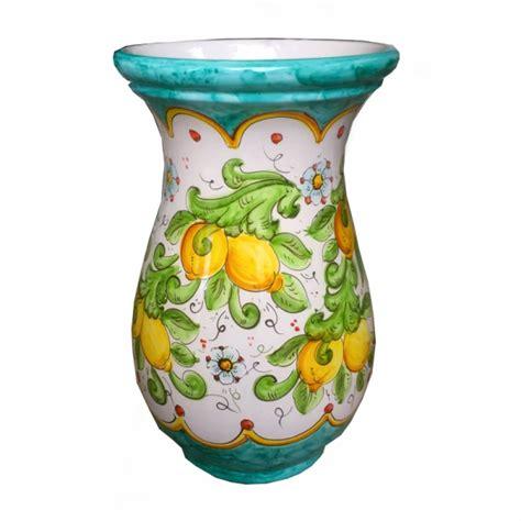 vasi vietri vaso in ceramica di vietri limoni ceramica vietrese